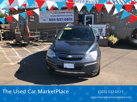 2013 Chevrolet Captiva Sport for sale at The Used Car MarketPlace in Newberg OR