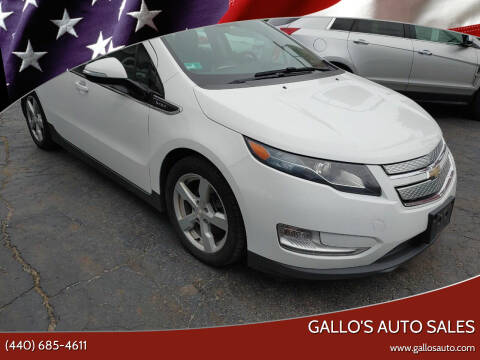 2013 Chevrolet Volt for sale at Gallo's Auto Sales in North Bloomfield OH