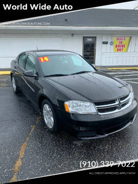 2014 Dodge Avenger for sale at World Wide Auto in Fayetteville NC