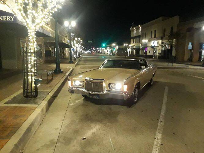 1971 Lincoln Continental for sale in Cadillac, MI