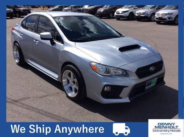 2018 Subaru WRX for sale at Carmart 360 Missoula in Missoula MT