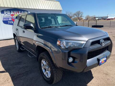 2015 Toyota 4Runner for sale at Praylea's Auto Sales in Peyton CO