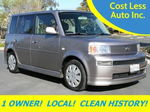 2006 Scion xB for sale at Cost Less Auto Inc. in Rocklin CA
