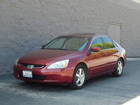 2003 Honda Accord for sale at Gilroy Motorsports in Gilroy CA
