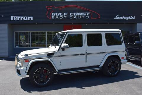 2013 Mercedes-Benz G-Class for sale at Gulf Coast Exotic Auto in Biloxi MS