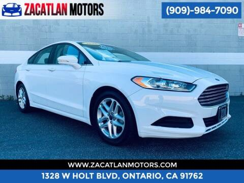 2016 Ford Fusion for sale at Ontario Auto Square in Ontario CA