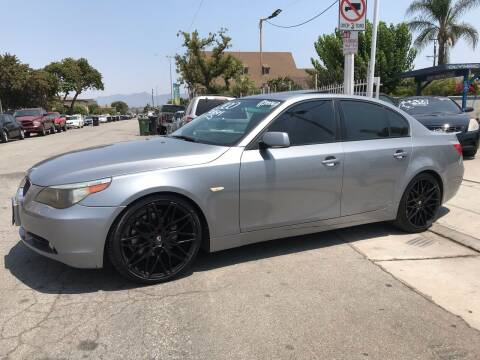 2006 BMW 5 Series for sale at Olympic Motors in Los Angeles CA