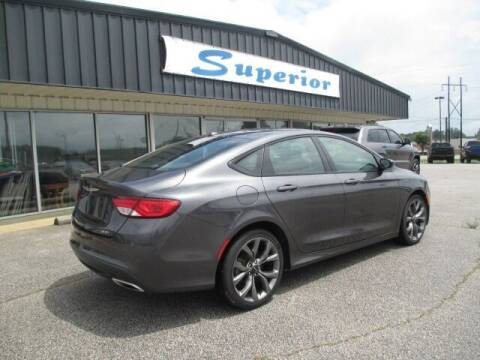 2015 Chrysler 200 for sale at SUPERIOR CHRYSLER DODGE JEEP RAM FIAT in Henderson NC