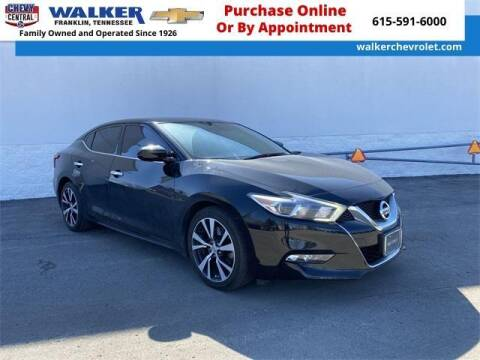 2017 Nissan Maxima for sale at WALKER CHEVROLET in Franklin TN