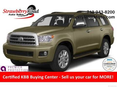 2013 Toyota Sequoia for sale at Strawberry Road Auto Sales in Pasadena TX