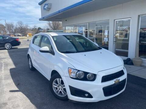 2016 Chevrolet Sonic for sale at MARTINDALE CHEVROLET in New Madrid MO
