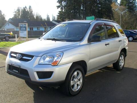 2009 Kia Sportage for sale at Yellow Line Motors in Lafayette OR