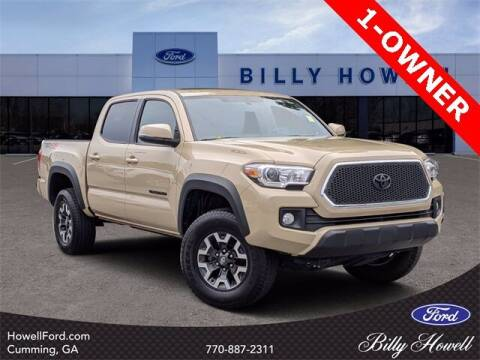 2017 Toyota Tacoma for sale at BILLY HOWELL FORD LINCOLN in Cumming GA