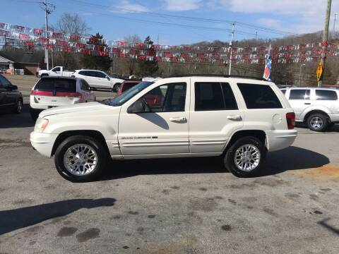 2002 Jeep Grand Cherokee for sale at Knoxville Wholesale in Knoxville TN
