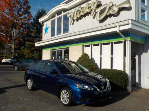 2018 Nissan Sentra for sale at Nicky D's in Easthampton MA