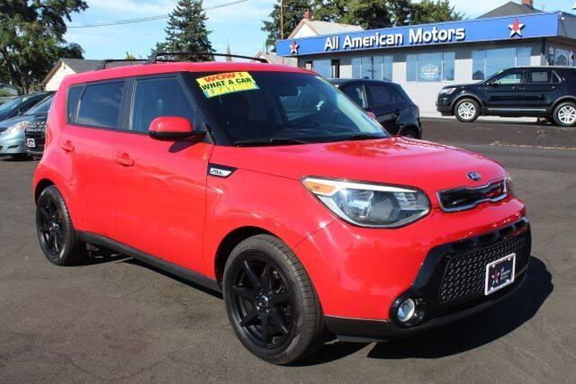 2016 Kia Soul for sale at All American Motors in Tacoma WA