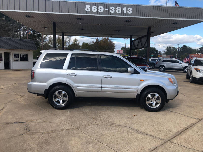 2007 Honda Pilot for sale at BOB SMITH AUTO SALES in Mineola TX