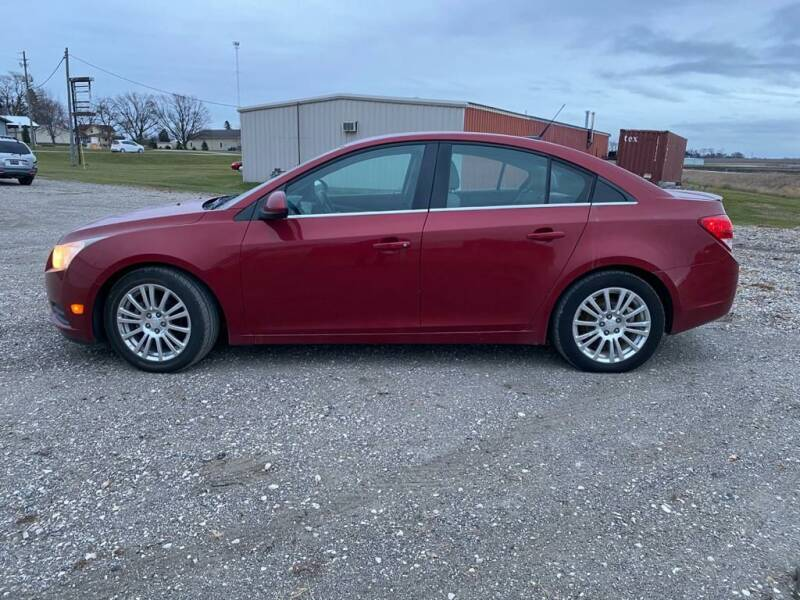 2013 Chevrolet Cruze for sale at BROTHERS AUTO SALES in Eagle Grove IA