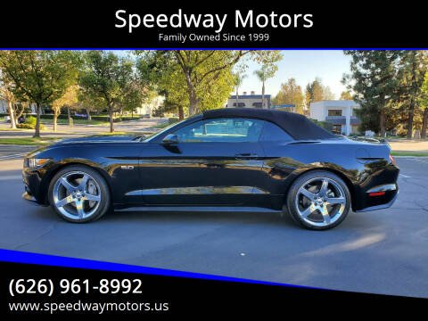 2015 Ford Mustang for sale at Speedway Motors in Glendora CA