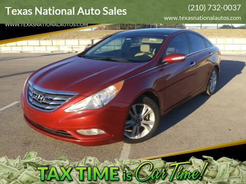 2013 Hyundai Sonata for sale at Texas National Auto Sales in San Antonio TX