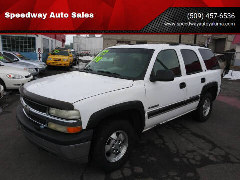 2001 Chevrolet Tahoe for sale at Speedway Auto Sales in Yakima WA