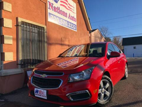 2016 Chevrolet Cruze Limited for sale at Nations Auto Inc. II in Denver CO