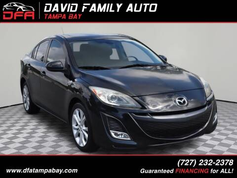 2011 Mazda MAZDA3 for sale at David Family Auto, Inc. in New Port Richey FL