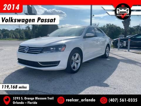 2014 Volkswagen Passat for sale at Real Car Sales in Orlando FL