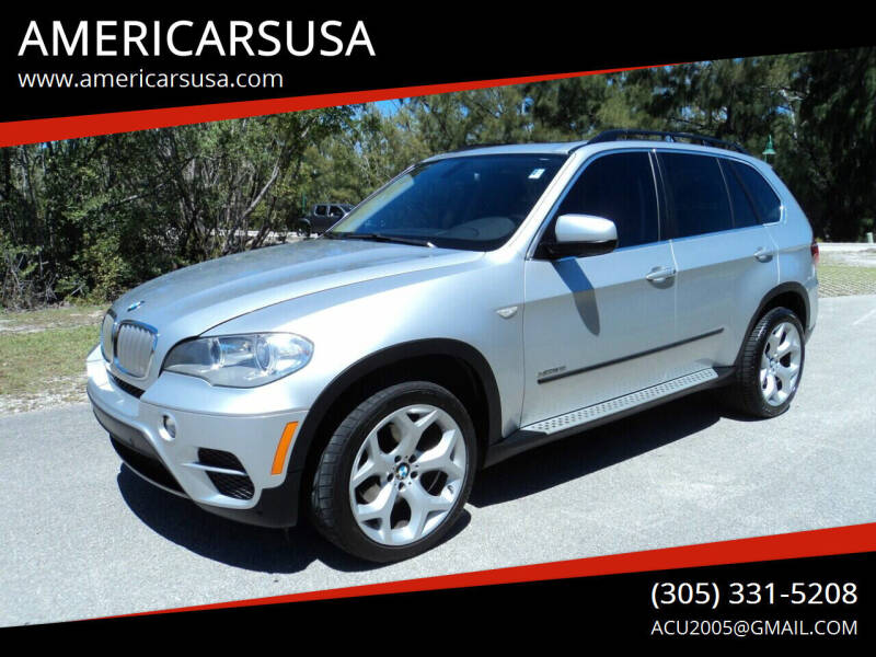 2013 BMW X5 for sale at Americarsusa in Hollywood FL