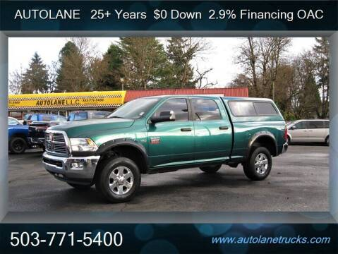 2010 Dodge Ram Pickup 2500 for sale at Auto Lane in Portland OR