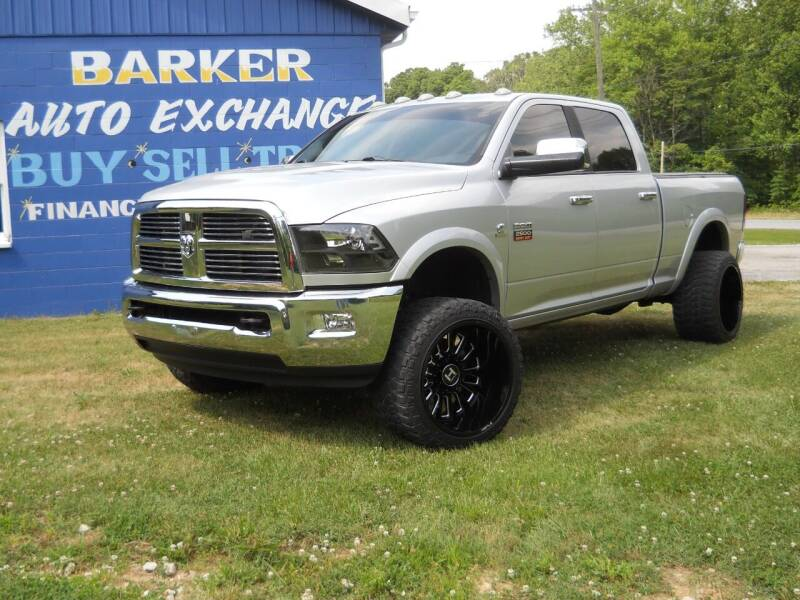 2012 RAM Ram Pickup 2500 for sale at BARKER AUTO EXCHANGE in Spencer IN
