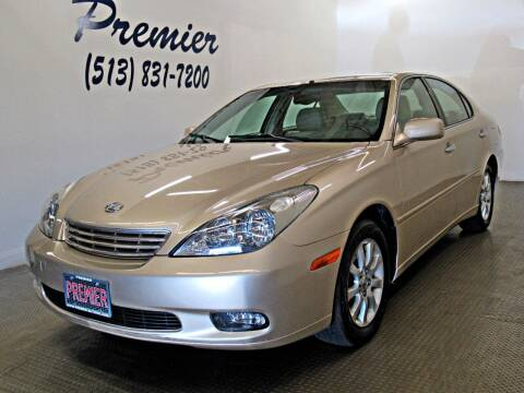 2002 Lexus ES 300 for sale at Premier Automotive Group in Milford OH