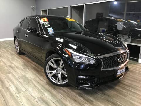 2017 Infiniti Q70 for sale at Golden State Auto Inc. in Rancho Cordova CA