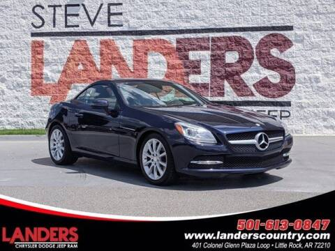 2016 Mercedes-Benz SLK for sale at The Car Guy powered by Landers CDJR in Little Rock AR