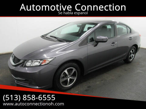 2015 Honda Civic for sale at Automotive Connection in Fairfield OH