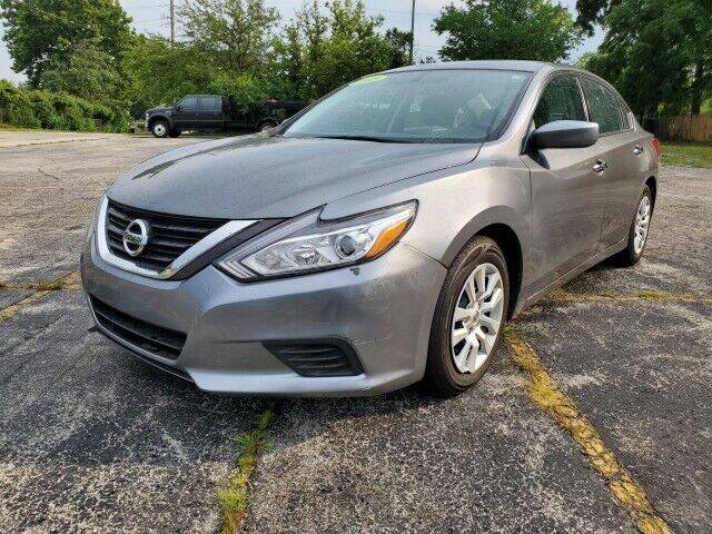 2016 Nissan Altima for sale at OT AUTO SALES in Chicago Heights IL