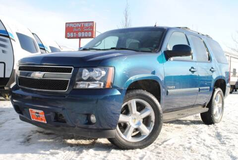 2007 Chevrolet Tahoe for sale at Frontier Auto & RV Sales in Anchorage AK