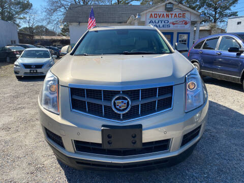 2010 Cadillac SRX for sale at Advantage Motors in Newport News VA
