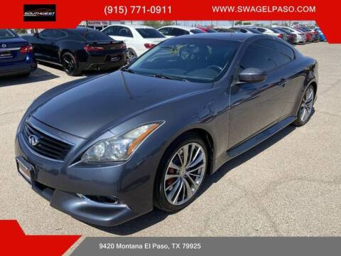 2013 Infiniti G37 Coupe for sale at SOUTHWEST AUTO GROUP-EL PASO in El Paso TX
