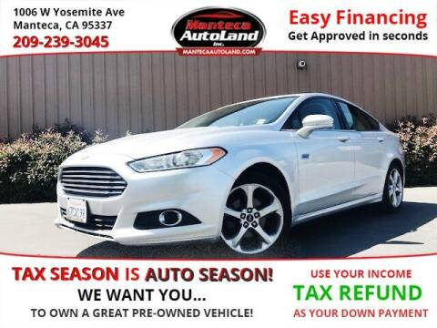 2013 Ford Fusion for sale at Manteca Auto Land in Manteca CA