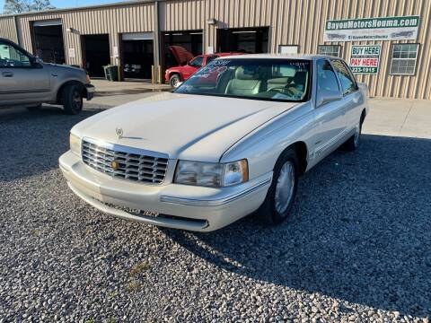 1999 Cadillac DeVille for sale at Bayou Motors Inc in Houma LA