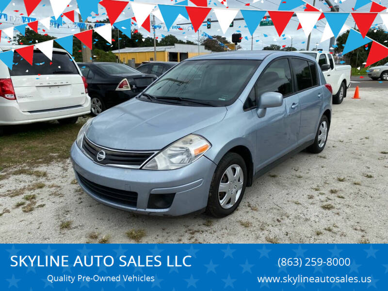 2011 Nissan Versa for sale at SKYLINE AUTO SALES LLC in Winter Haven FL
