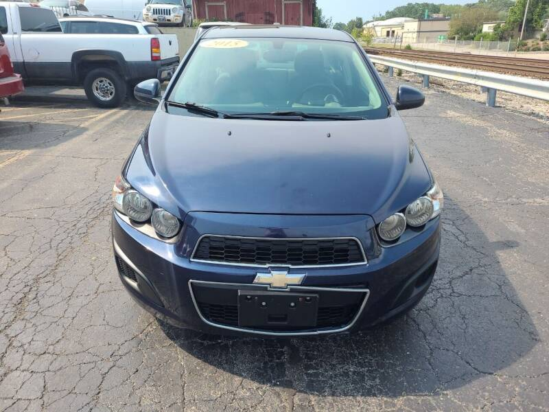 2015 Chevrolet Sonic for sale at Discovery Auto Sales in New Lenox IL
