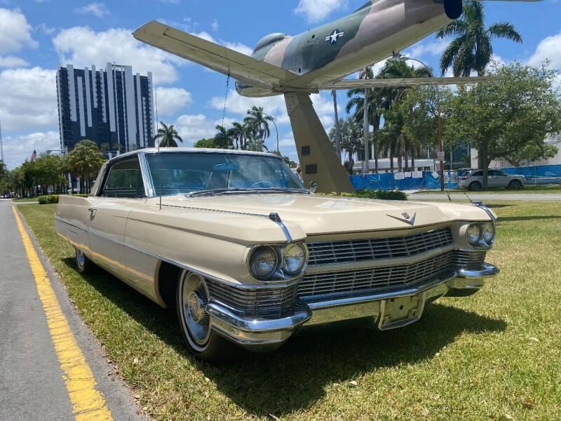 1964 Cadillac DeVille for sale at BIG BOY DIESELS in Ft Lauderdale FL