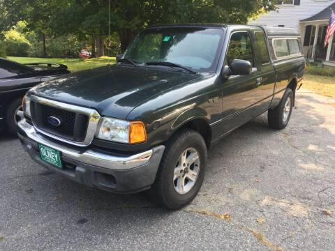 2004 Ford Ranger for sale at Olney Auto Sales in Springfield VT
