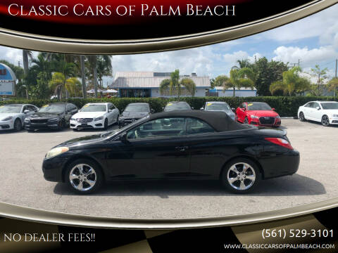2006 Toyota Camry Solara for sale at Classic Cars of Palm Beach in Jupiter FL
