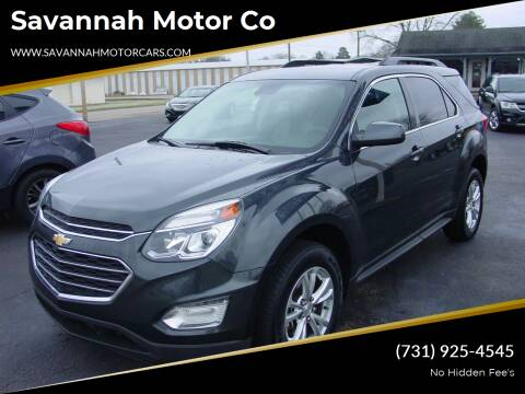 2017 Chevrolet Equinox for sale at Savannah Motor Co in Savannah TN