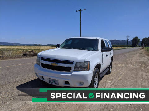 2008 Chevrolet Tahoe for sale at M AND S CAR SALES LLC in Independence OR
