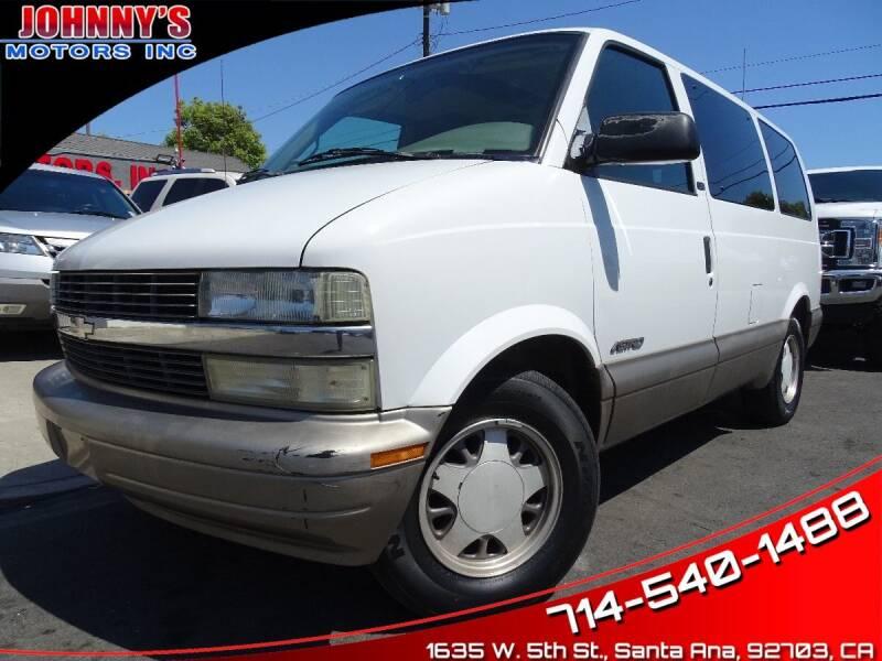 2002 Chevrolet Astro for sale in Santa Ana, CA