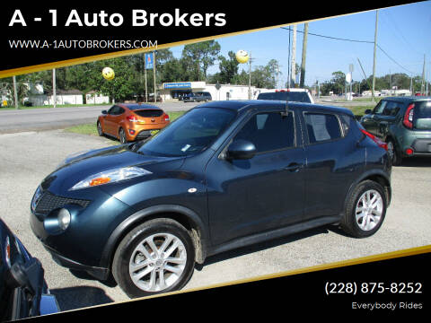 2014 Nissan JUKE for sale at A - 1 Auto Brokers in Ocean Springs MS
